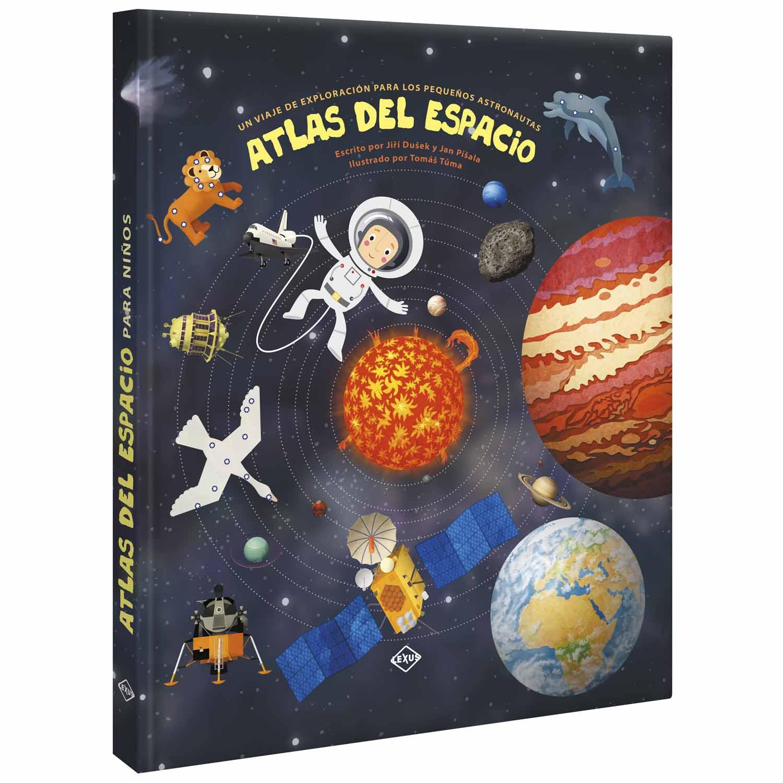 Atlas Del Espacio Para Niños Lexus Editores Rep Dominicana